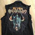Alien weaponry Battle Jacket