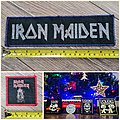 Iron Maiden - Patch - Iron maiden patches