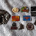 Pins that have been donated to Patch  Amnesty