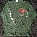 Napalm Death Diatribes European Tour 1996 LS TShirt or Longsleeve