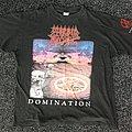 Morbid Angel Domination European Tour Shirt