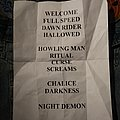 Night Demon Setlist
