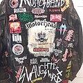 Voivod - Battle Jacket - Leather jacket front finished.