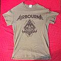 Airbourne Black Dog barking tour shirt