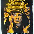 Patch - King diamond  Fatal portrait backpatch