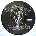 Motörhead bastards pic disc goldencore limited to 1000 Tape / Vinyl / CD / Recording etc