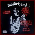 "Motorhead overkill 7"" red 2010 Tape / Vinyl / CD / Recording etc"