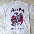 Skull Fist Shred not dead t-shirt