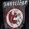 Sortilege - Other Collectable - Sortilège first ever shirt cutout