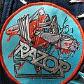 Razor - Violent Restitution Woven Patch