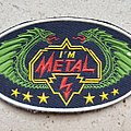 "Vintage 80's ""I'm Metal"" Rubber Patch - I Need Help Identifying it!"