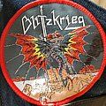 Blitzkrieg - A Time of Changes - Woven Patch