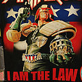 Anthrax - I Am the Law! - Backpatch