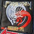 Forbidden - Forbidden Evil - Woven Patch