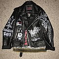 Celtic Frost - Battle Jacket - Painted Burning Leather