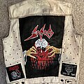 Sodom - Battle Jacket - Bleached and Painted