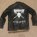 """Voivod """"To The Death!"""" Painted Leather Jacket"""
