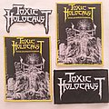 Toxic Holocaust Conjure wovens Patch