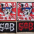 S.O.B woven patches