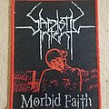 Sadistic Intent woven patch