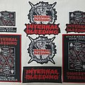 Internal Bleeding Woven Patches