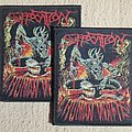 Suffocation woven patch
