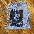 GG Allin - TShirt or Longsleeve - Outlaw Scumfuc
