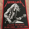Metallica RIP patch