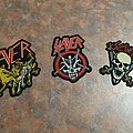 Slayer Ottawa 2019 concert patches