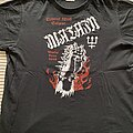 Watain - TShirt or Longsleeve - Watain Trident Wolf Curse Tour Shirt