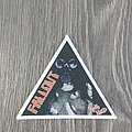 Fallout - Patch - Fallout Rock Hard triangle patch white border