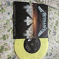 "Metallica MOP 7"" vinyl yellow"