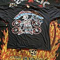 Metallica justice tour shirt
