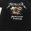 Metallica slims slam shirt