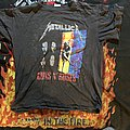 Metallica gnr tour shirt