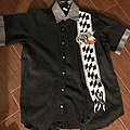 Metallica button up fuel shirt