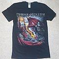 Demons & Wizards - TShirt or Longsleeve - Demons & wizards Skull Fire T shirt