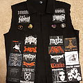 First Battle Vest (mostly black/death)