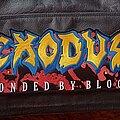 Exodus - Patch - Exodus logo back patch #2
