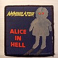 Annihilator - Patch - Alice in Hell patch