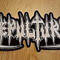 Sepultura - Patch - Sepultura logo back patch