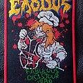 Exodus - Patch - Exodus Fabulous Disaster Tour 1989 patch