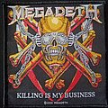 Megadeth - Patch - Killing Is My Business patch