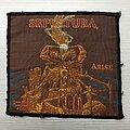 Sepultura - Tape / Vinyl / CD / Recording etc - Arise patch