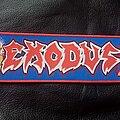 Exodus - Patch - Exodus Bonded By Blood stripe patch