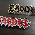 Exodus - Pin / Badge - Two Exodus pin