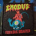 Exodus - Patch - Exodus - Fabulous Disaster patch