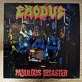 Exodus - Tape / Vinyl / CD / Recording etc - Exodus - Fabulous Disaster LP 1st press