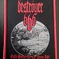 Deströyer 666 - Patch - Deströyer 666 - Cold Steel for an Iron Age patch