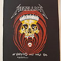 Metallica.  In vertigo you will be backpatch